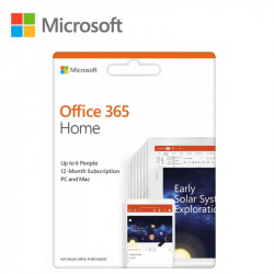 Microsoft Office 365 Home 6 user 12 months subscriptions