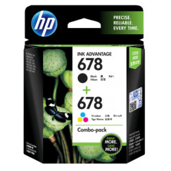 HP 678 Combo Pack